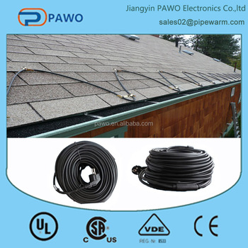 European Defrost Heating Cable For Roof Amp Gutter Buy