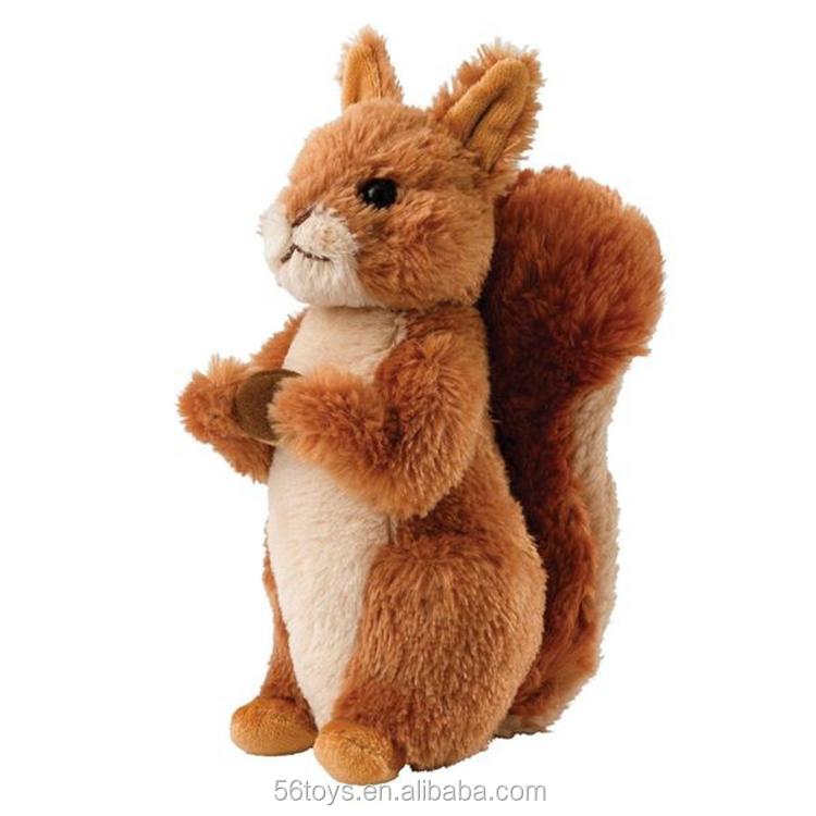 Featured PP stuffing squirrel hot selling squirrel plush toys