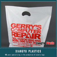 Plastic Die Cut Shopping Bag Manufacture