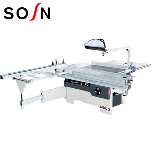 precise and beam machine woodworking cutting sliding panel table saw China factory