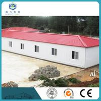 color steel panel european modular homes newly design solid steel frame house / u shaped house plans design