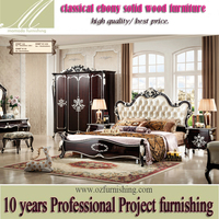 HG109 China Factory Classic American Style Solid Wood furniture bedroom Suite