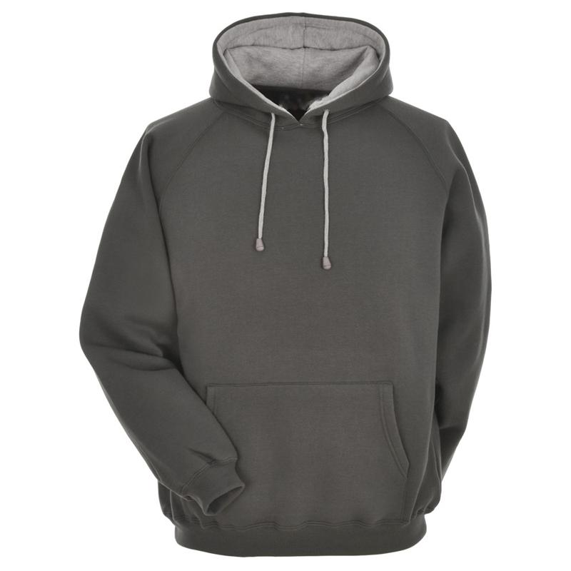 Black hoodie white strings