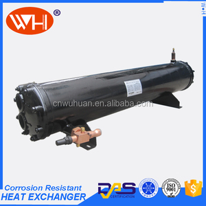 sea water tube condenser seawater cooled condenser