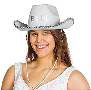 87d2235905e Buy Bride Cowboy Hat