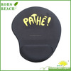 Gel material pure blank color mouse mat with hand rest passed SGS factory audit rohs reach