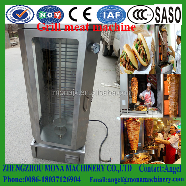 Automatic Turkey lamb barbecue machine/automatic rotating roaster machine/Turkey barbecue machine with low price