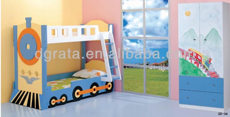 einzigartiges design Kind etagenbett zug bett ist Design für Kinder