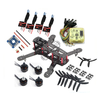 QAV250 DIY RC Quadcopter Kit with EMAX MT1806 2280KV Brushless Motor / Simonk 12A ESC / CC3D Flight Controller / 5030 Propellers