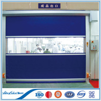 PVC Fabric Self Repairing High Speed Roll up Door | fast rapid roller shutter door