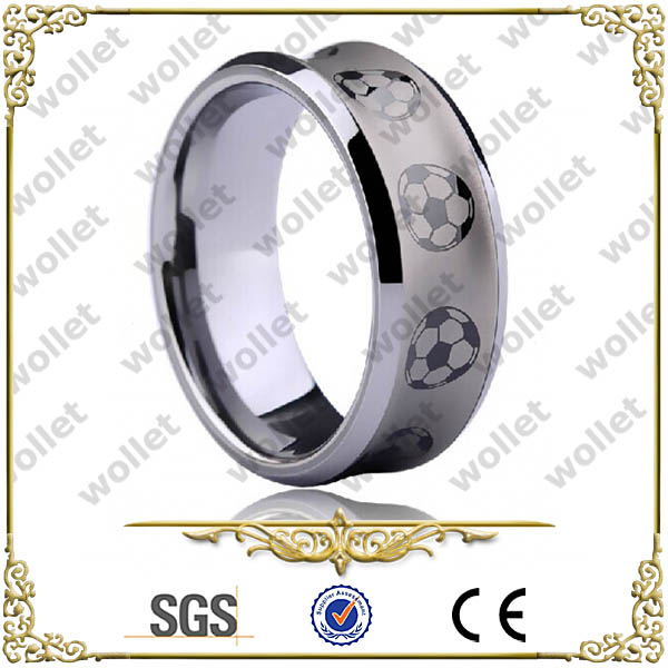 2017 world cup Cheap tungsten carbide men ring china jewelry wholesale