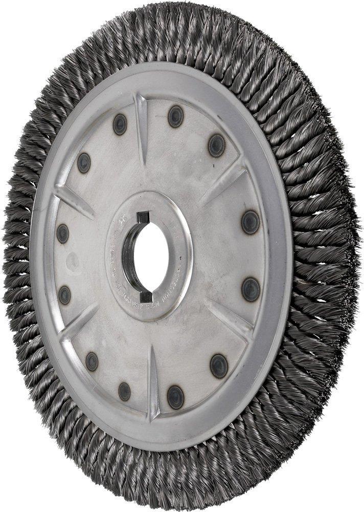 1//2? Arbor Hole Steel Wire Straight Wheel Pack of 5 ?2? Diameter