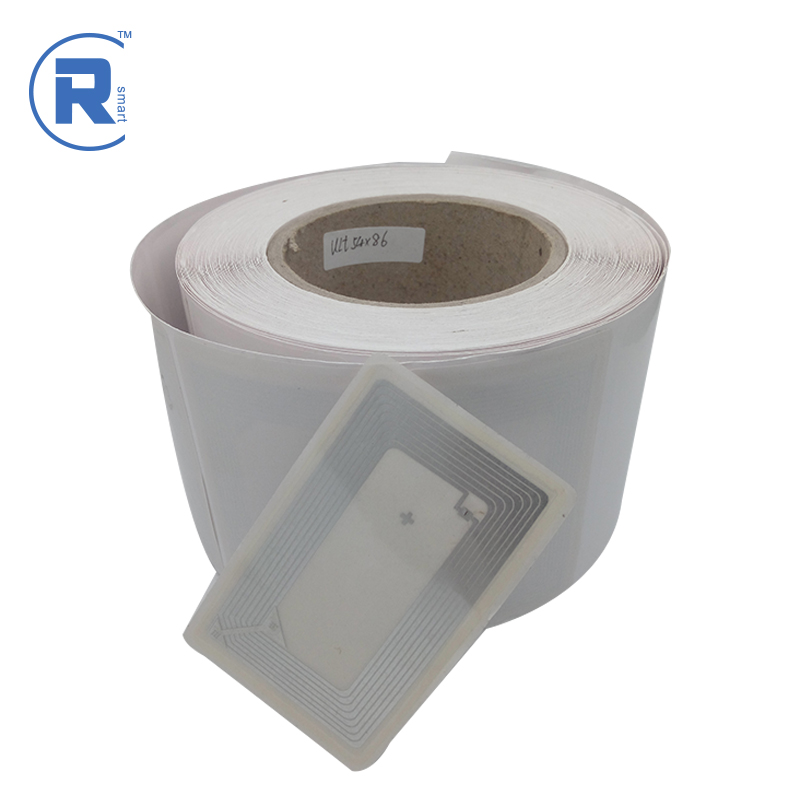 Factory RFID UHF logo custom Alien M4QT tags self-service supermarket label with low price