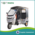 Newest ECO- friendly model battery operated tuk tuk with 3 seaters for sale