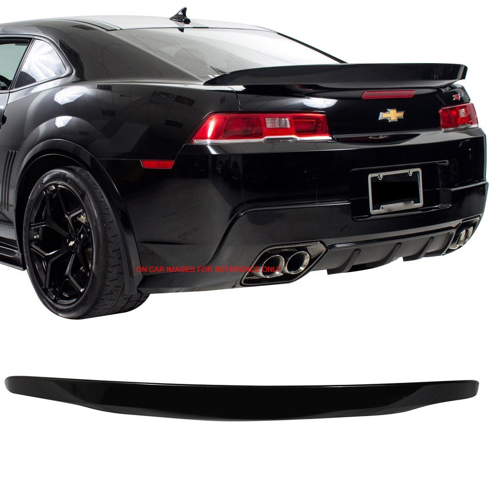 ZL1 Style ABS Painted #WA122V Berlin Blue Metallic Trunk Boot Lip Spoiler Wing Deck Lid Other Color Available By IKON MOTORSPORTS Pre-painted Trunk Spoiler Compatible With 2010-2013 Chevy Camaro