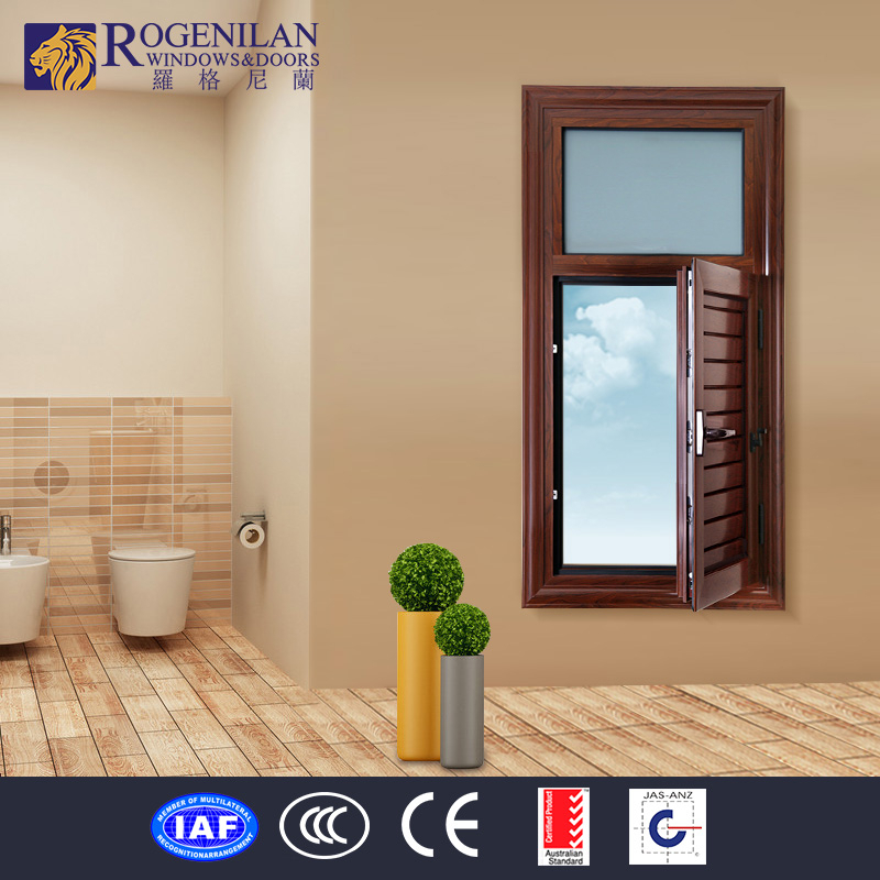 ROGENILAN interior security window grille shutter metal louver window