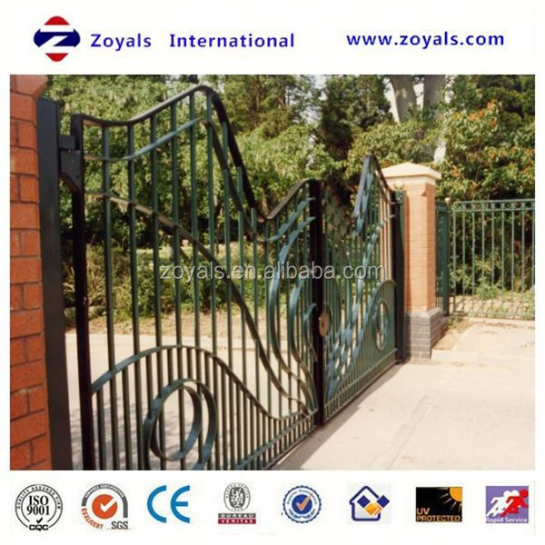 2015 The most popular gate: automatic folding sliding gate