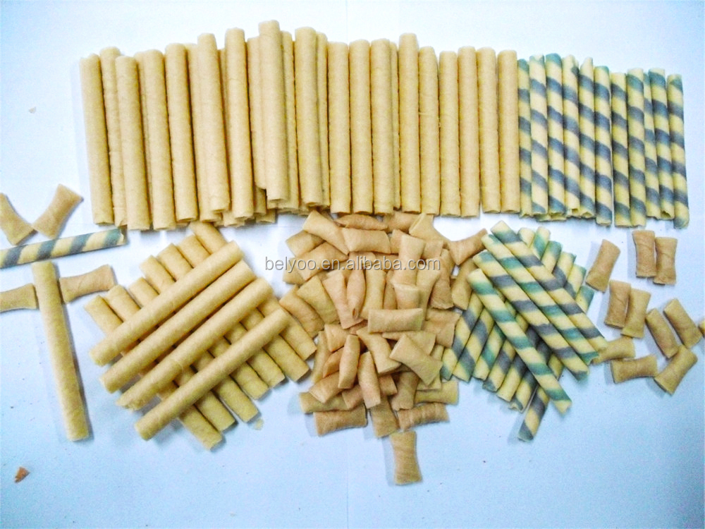 Strawberry wafer sticks production line