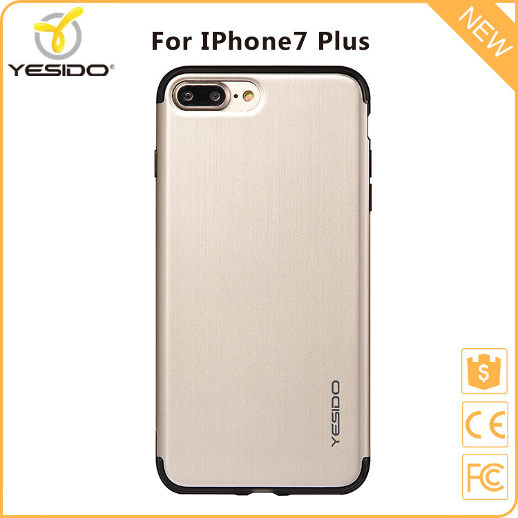 Yesido new arrival cover phone casing for iphone 7 plus case gold go pro case