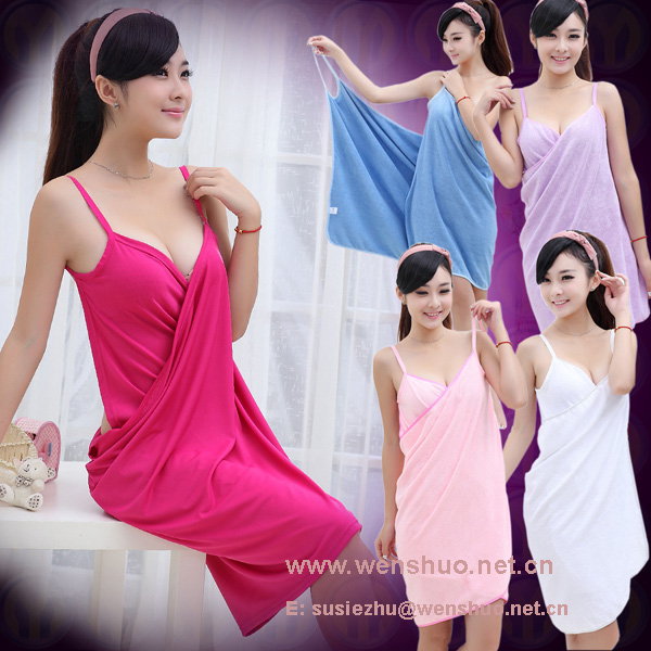 Hot Sell Solid Color Sarong Dress Beach Wrap
