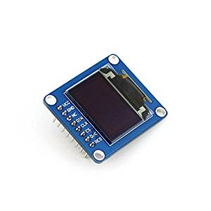 Angelelec DIY Open Sources Sensors, 0.95Inch RGB OLED (B), 0.95Inch RGB OLED, SPI Interface, Straight/Vertical Pinheader, Driver Chip SSD1331, Interface SPI, Resolution 96¡Á64, Display Size 0.95Inch.