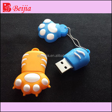 Bulk cheap Cartoon 3D fancy shape mixed wholesale usb flash drivers u disk