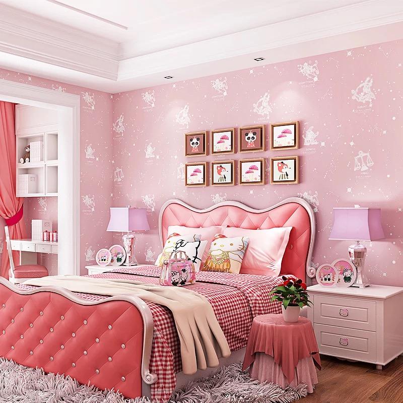 Grossiste papier peint pour chambre de fille acheter les - Papier peint fille chambre ...