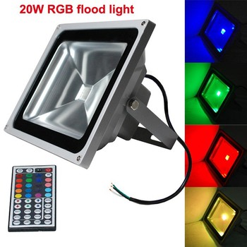 Cob 10w20w rgb led flood light outdoor waterproof ac85 265v home cob 10w20w rgb led flood light outdoor waterproof ac85 265v home decoration lamp mozeypictures Choice Image