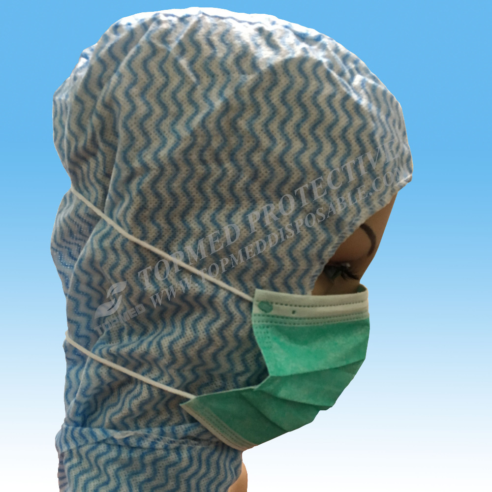 Hot Sale Non Woven 3 ply Disposable Face Mask , Medical head loop face mask