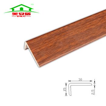 Flooring Transition Amd Endcap L Shape Quarter Round For Vinyl Flooring Buy High Quality Flooring Transition Pvc Transition And Endcap L Shaped