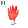 organic cotton knitted work long cuff latex gloves