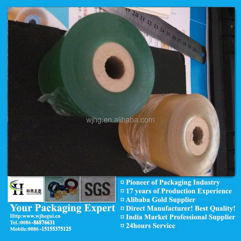 Environment PVC Stretch Film Free Sample Worldwide Transparent PVC film Cable Wrapping Film