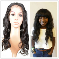 free part and glueless lace wig 100 human hair wig can be dyed and restyle unprocessed remy human hair full lace wig