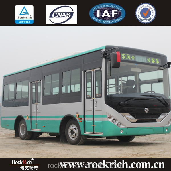 Hot sale Widely use Dongfeng new design CNG EQ6730CT 8m city bus