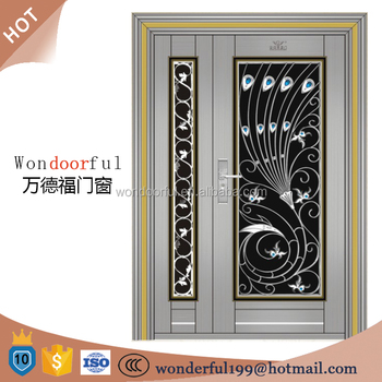 304 Stainless Steel Entrance Door Design Main Gate Colors
