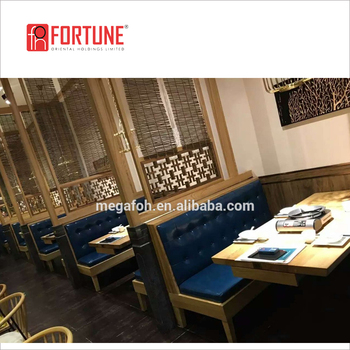 High End Navy Blue Leather Sofa For