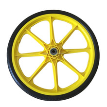 20 Inch Plastic Bicycle PU Foam wheel