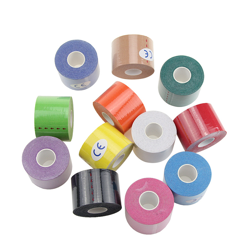 big discount healthcare products elastic sports tape adhesive tape kinesiology