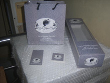 hair extension packaging boxes with matching bags, tags and stickers for hair salons, beauty parlours,