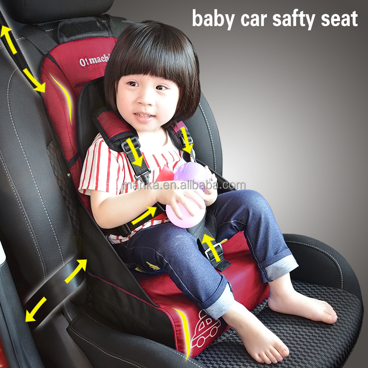 baby car seat pad kids car safety seat cushion portable infant heighten chair mat adjustable booster