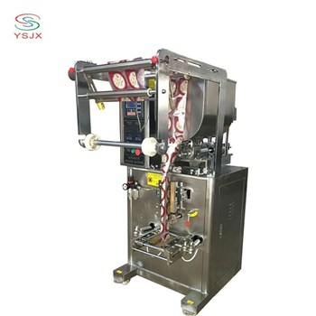 automatic paste packing machine for ketchup / mustard / salad sauce linked bag sealing