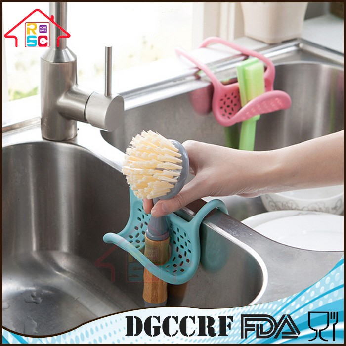 Top and Hot Sell Simple Creative Sink Caddy for Kitchen Brush Sponge Holder