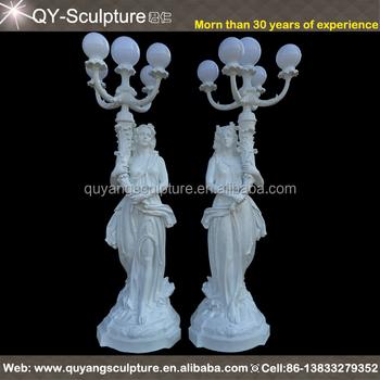 statue d 39 ange en r sine lampe pour jardin ext rieur buy. Black Bedroom Furniture Sets. Home Design Ideas