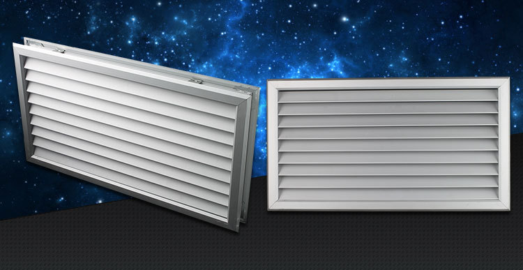 Ventilation Adjustable Air Vent Air Grille Bathroom Door