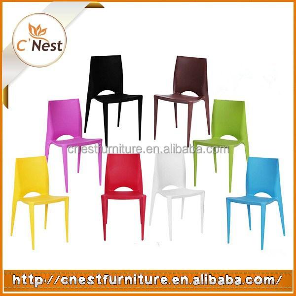 gros bon march color pp chaise en plastiquechaise dextrieurchaise de - Chaise Jardin Colore