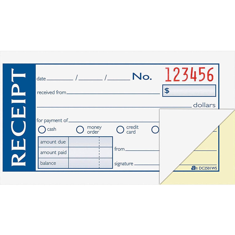 ABFDC2501WS - Adams Money/Rent Receipt Book