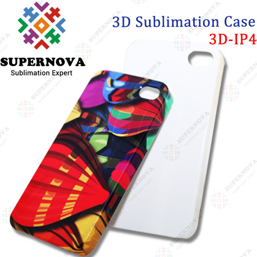 3D Sublimation Blank Phone Case for iPhone 4s