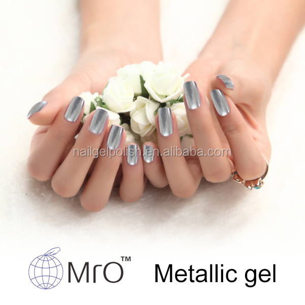 MRO free sample metallic color nail polish,organic nail polish