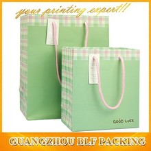 Gift logo paper bag good quality