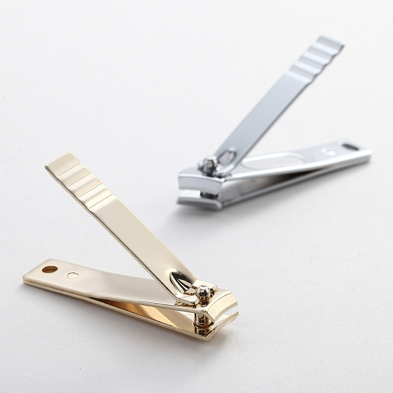 ICEQUEEN High Quality Rose Gold Nail Cutter Stainless Steel Nail Clipper
